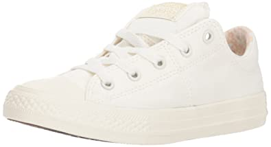 ebe622ae23de58 Converse Girls  Chuck Taylor All Star Madison Sneaker Bone 1 M US Little Kid