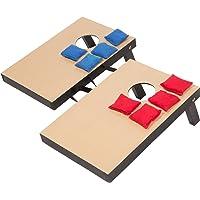 Trademark Innovations - Juego de lanzamiento de bolsas en miniatura, de escritorio, 26.04 cm x 39.37 cm