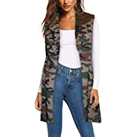 Women's Vest Jacket Plaid Cardigan Blazer with self Fabric Belt
