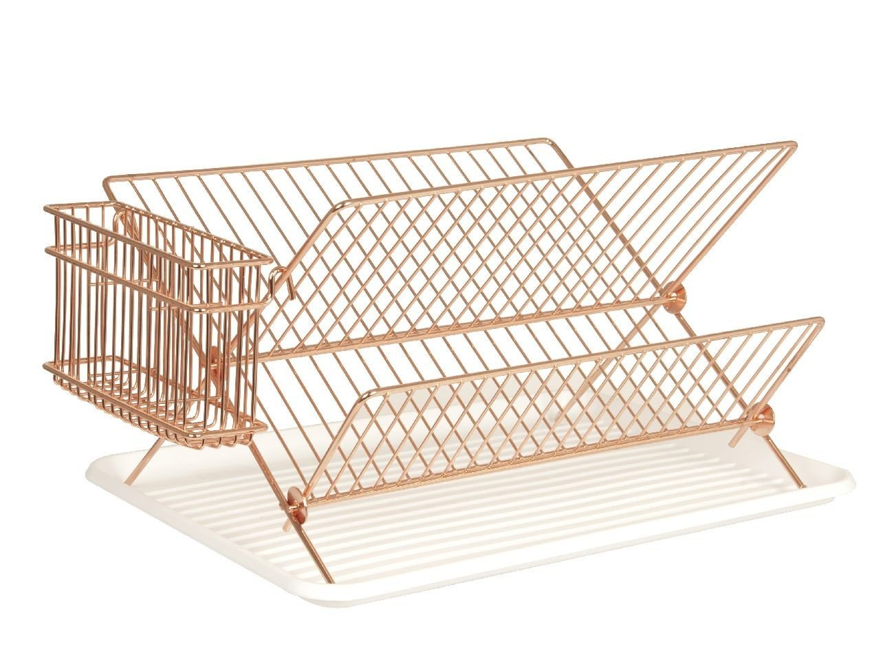 Copper Plated Dish Rack Present Time PT3116CO