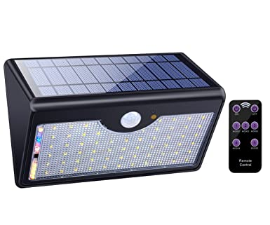 Solar lights outdoor with remote control 1300lm 60 led wireless solar lights outdoor with remote control 1300lm 60 led wireless waterproof solar motion sensor security aloadofball Gallery