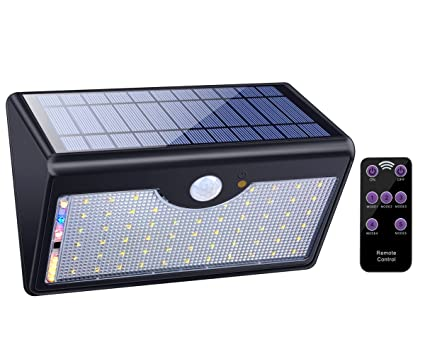Amazon solar lights outdoor with remote control 1300lm 60 led solar lights outdoor with remote control 1300lm 60 led wireless waterproof solar motion sensor security aloadofball Images