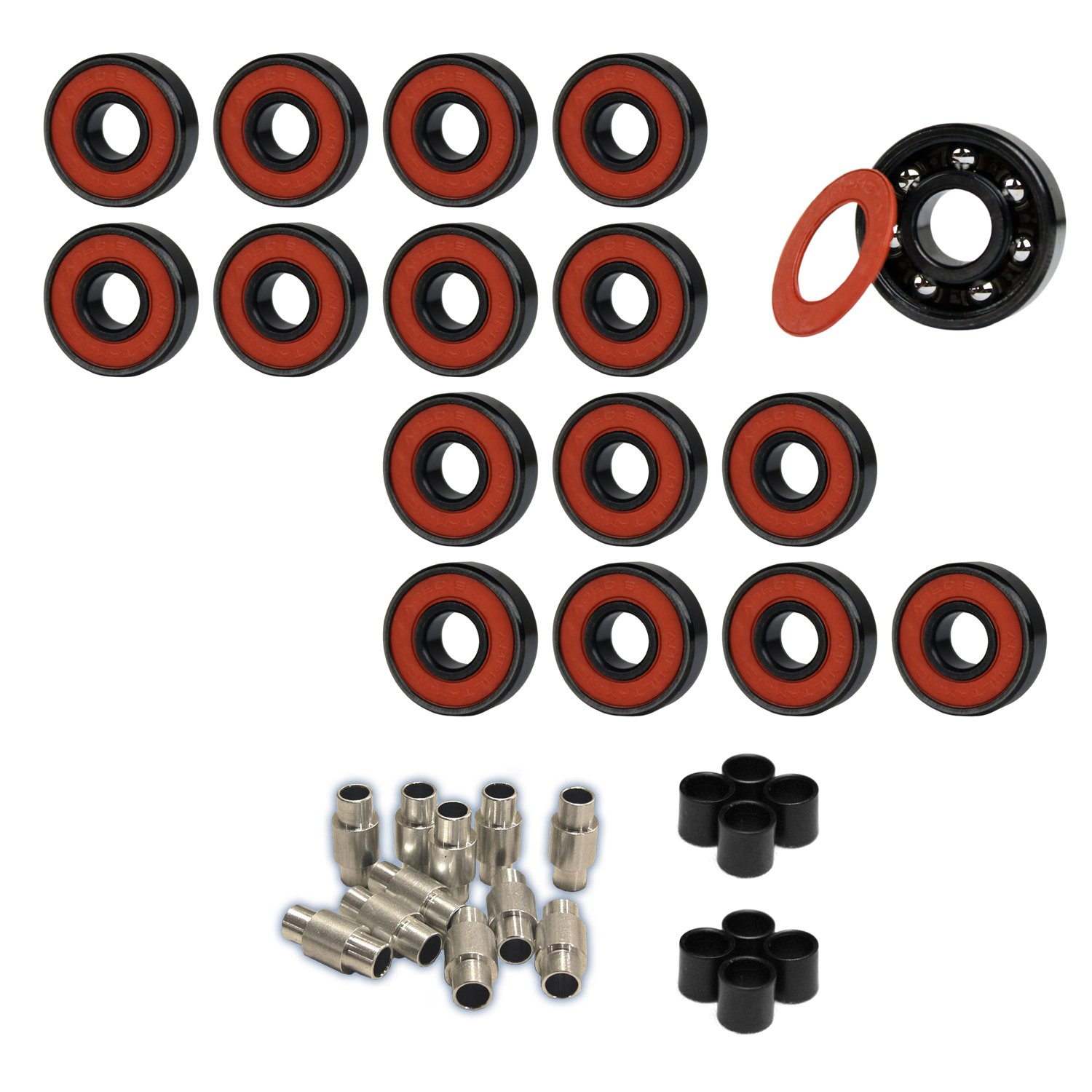 Amphetamine Roller Hockey Bearings Inline Skate SPEED KIT Abec 5