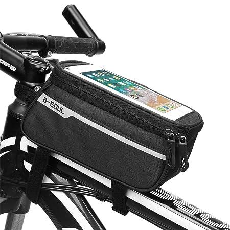 SGJIN HOME Bolsa de cuadro de bicicleta, Bolsa de bicicleta ...