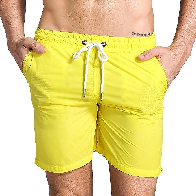 Amazon.com: Pantalones cortos para hombre de secado rá ...