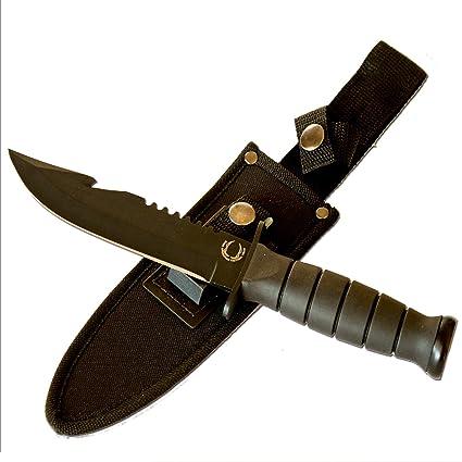 Amazon.com: Mejor Bowie – Cuchillo de caza/Militar Marino ...