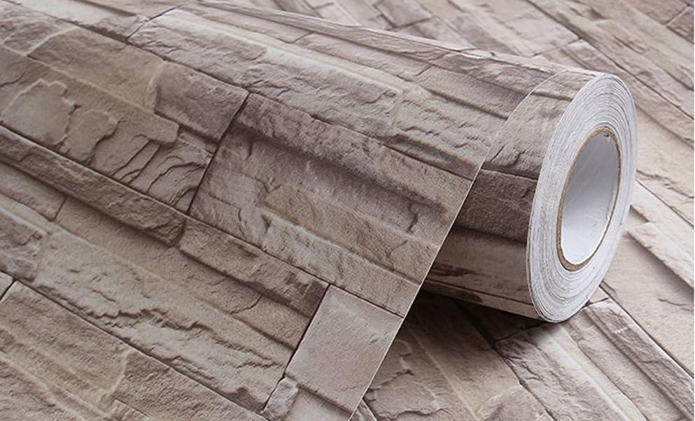 水素材料前奏曲QD-BYM 発泡 スチロール風 クッション 壁紙シール 3D ソフトパネル 自己粘着クッションシート 簡単DIY! 30cm×30cm 11枚セット(約1㎡) 防水 防音 衝撃防止 遮光断熱 軽量 PE 【新規】
