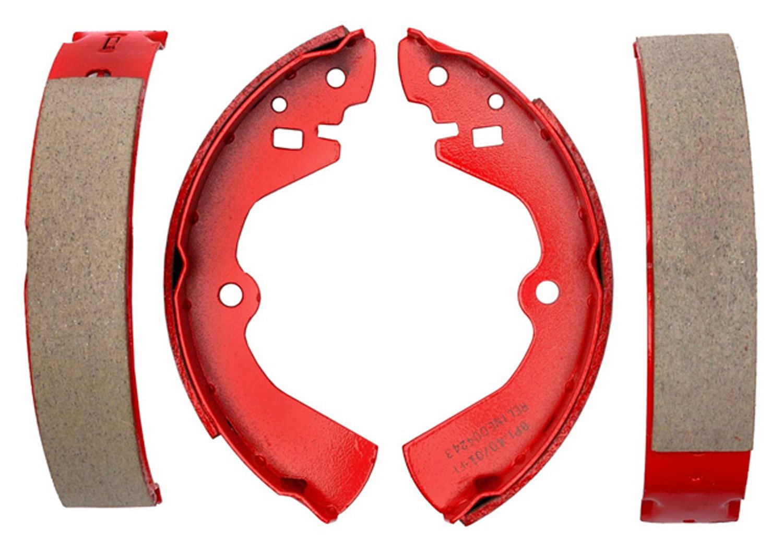 ACDelco 17575B Professional Bonded Rear Drum Brake Shoe Set