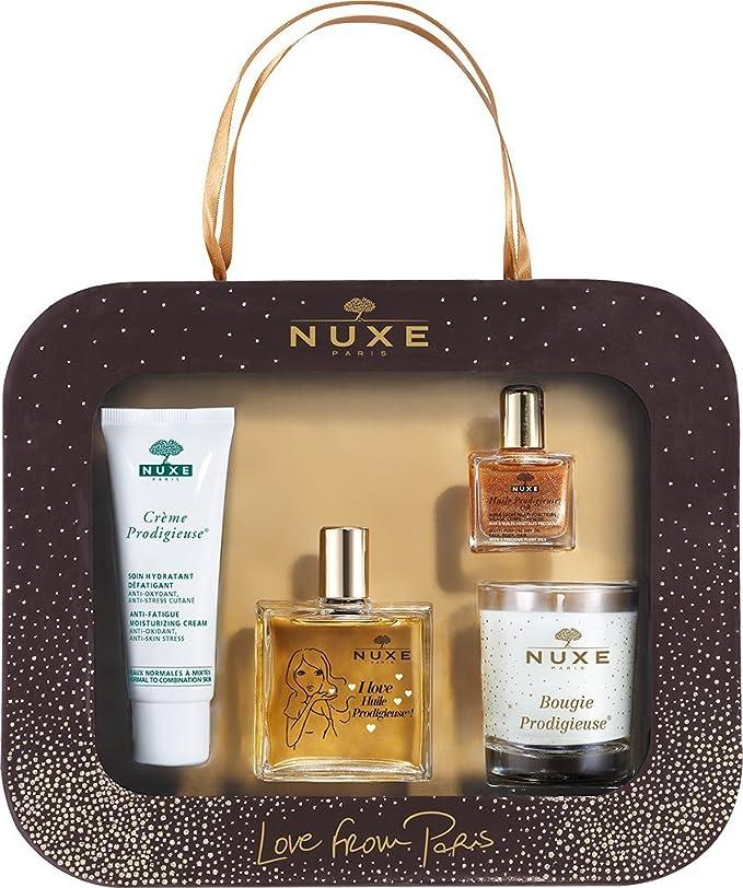 Nuxe - Estuche de regalo Love from Paris Huile Prodigieuse OR: Amazon.es: Belleza