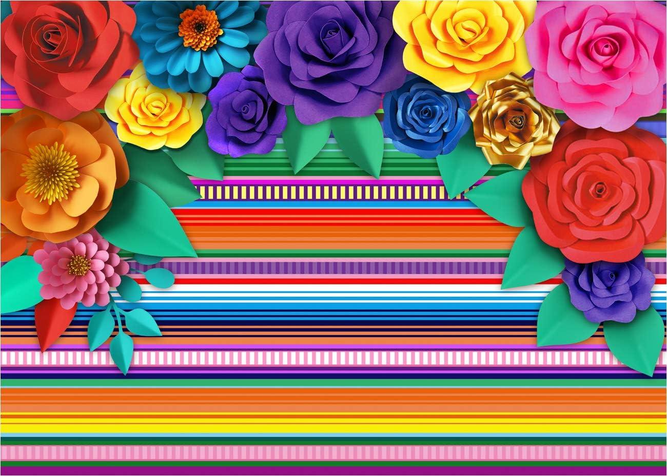 Gestreifter Hintergrund Für Mexikanische Mottoparty Kamera