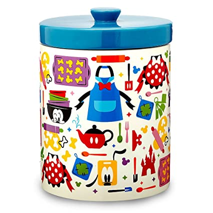 Disney Cookie Jars Amazon Com >> Amazon Com Disney Mickey Mouse And Friends Colorful Kitchen Cookie