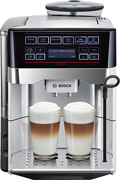 Bosch TES60729RW - Cafetera (Independiente, Máquina espresso, 1,7 ...