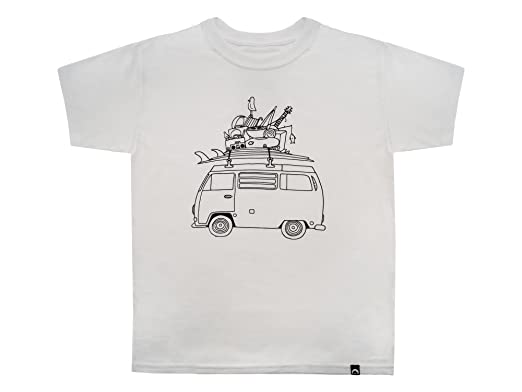 Amazon com: GoWesty Youth RAD Kids Bus T-Shirt: Clothing