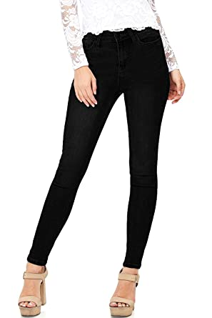 Amazon Com Celebrity Pink Womens Juniors High Rise Ankle Skinny Jeans Clothing