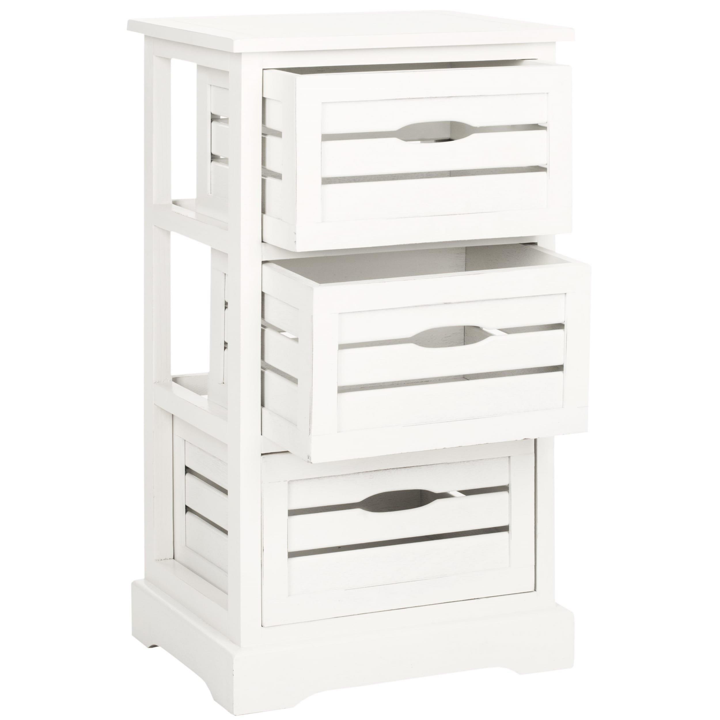 Safavieh American Homes Collection Samara Grey 3-Drawer Cabinet