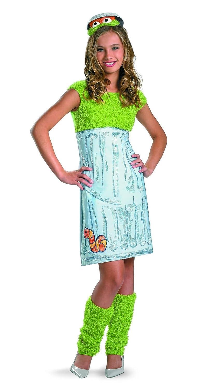 amazoncom disguise sesame street oscar teen girl girls costume large10 12 toys games