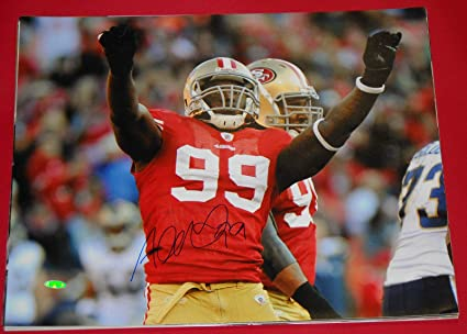 49a0fd1de5c ALDON SMITH AUTOGRAPHED SAN FRANCISCO 49ERS 16X20 PHOTO TRISTAR at ...