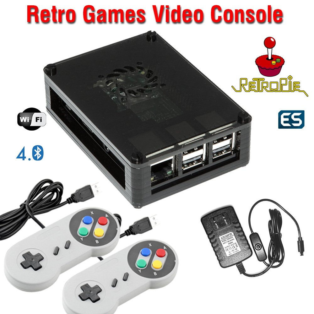 58fac9d4b224b Amazon.com  Raspberry Pi 3 based retro games emulation console
