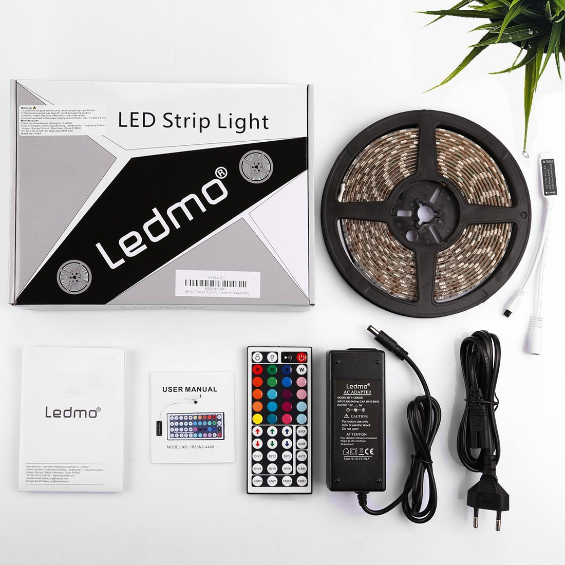 LEDMO RGB LED Streifen 5M, Stripes, Stripe Band 300 LED(SMD5050 ...