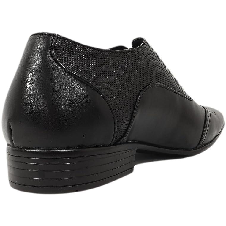 Gio Gino - Zapatos de cordones de Material Sintético para hombre Negro negro, color Negro, talla 45