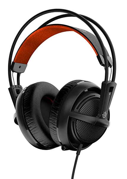 e62966b1683 Amazon.com: SteelSeries Siberia 200 Gaming Headset - Black (formerly Siberia  v2): Computers & Accessories