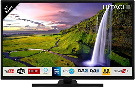 HITACHI 32HE2100 TELEVISOR 32 LCD Direct LED HD Ready Smart TV 400Hz HDMI USB Grabador Y Reproductor Multimedia: 166.25: Amazon.es: Electrónica