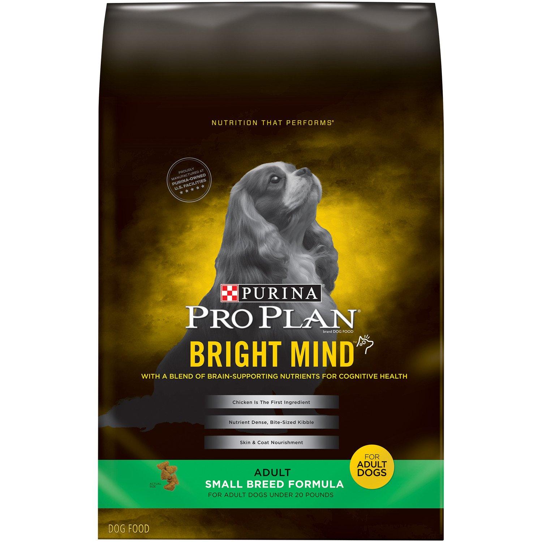 Amazon Purina Pro Plan BRIGHT MIND Adult Small Breed Formula