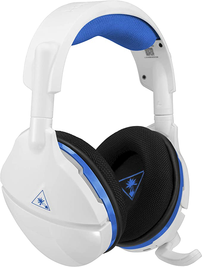 Turtle Beach Stealth 600 - Auriculares Gaming Inalámbricos - PS4 y PS5, Blanco: Amazon.es: Videojuegos