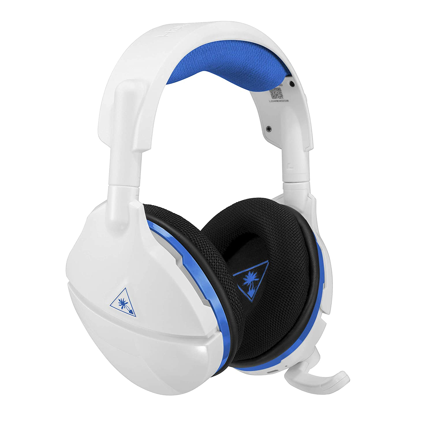 Amazon Com Turtle Beach Stealth 600 White Wireless Surround Sound Gaming Headset For Playstation 4 Pro And Playstation 4 Video Games
