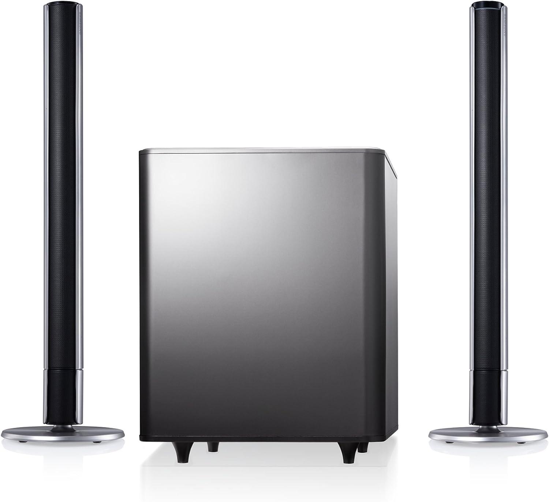 Samsung HW-E551/XU 2.1channels 310W Negro Altavoz soundbar - Barra de Sonido (2.1 Canales, 310 W, Dolby Digital,DTS, 80 W, 150 W, 1,7 kg): Amazon.es: Electrónica