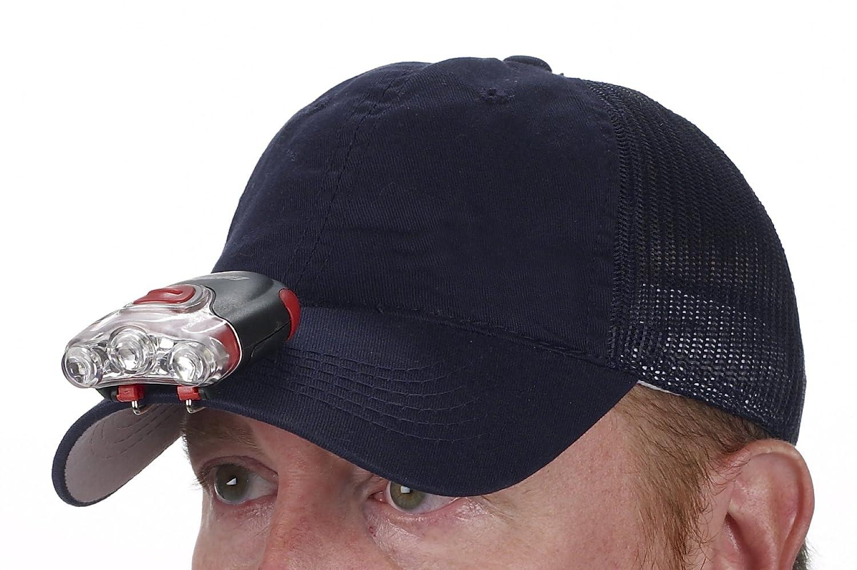 Energizer Performance LED Cap Light Red Sportsman Supply Inc CAPR22E 30 Lumens
