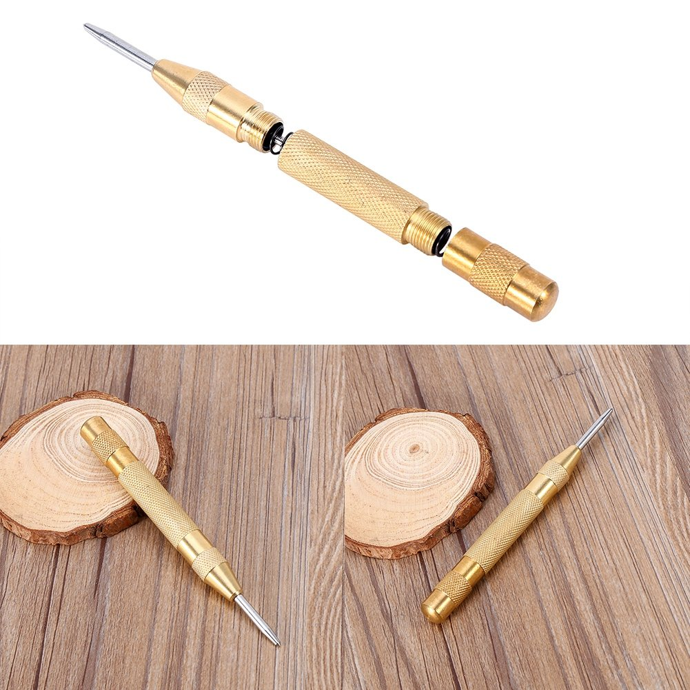 127 mm Automatic Center Punch aus HSS L/änge 130 mm f/ür Stahl Holz und Kunststoff Automatik K/örner Splintentreiber