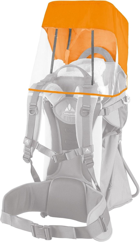 VAUDE 10799 Toit Pare-Soleil//Pluie pour Porte-b/éb/é Orange