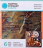Martha Stewart Crafts Decoupage Gilding Sheets, 33320 Stripe