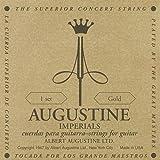 Augustine 650457 Corde per Chitarra Classica, Etichetta Imperial, Set Cantini Precision-Round High Tensione, Corde Basse Light Tensione, Muta Oro