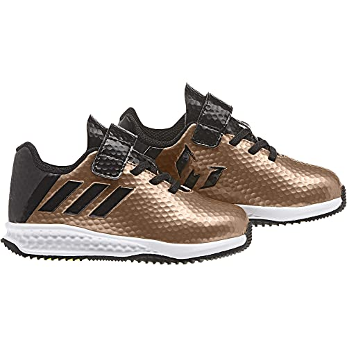 adidas Rapidaturf Messi El I, Zapatillas Unisex para Niños, (Marrone Bronzo/cobmet/Negbas/Versol), 24 EU: Amazon.es: Zapatos y complementos