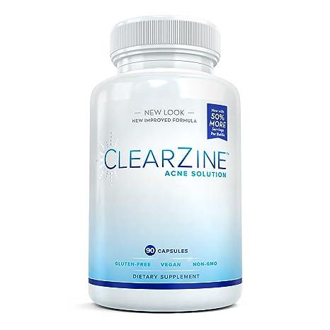 ClearZine Acne Solution – Las mejores pastillas de acné natural para un tratamiento rápido del acné