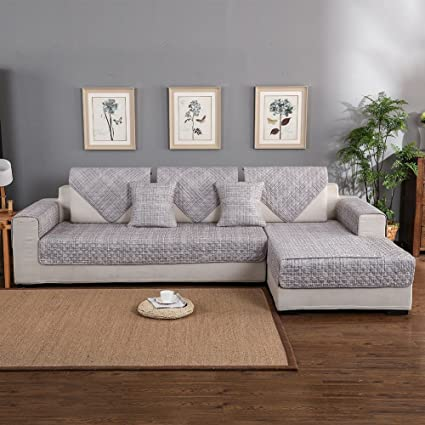 Amazon Com Forcheer Multi Size Sofa Slipcovers Sectional Couch