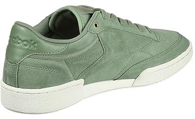 fef3e8fe165df Reebok Men's Club C 85 MCC Manilla Light/Chalk Tennis Shoes-6 UK ...