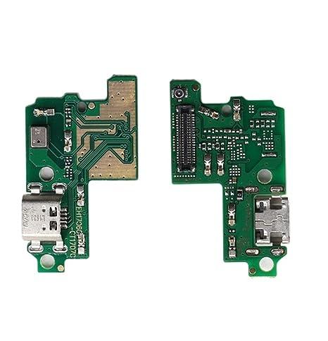 375f2d27a59 FLEX FLAT DOCK MICRO USB RICAMBIO CIRCUITO MODULO BASETTA CONNETTORE per  jack Usb DI CARICA DOCK
