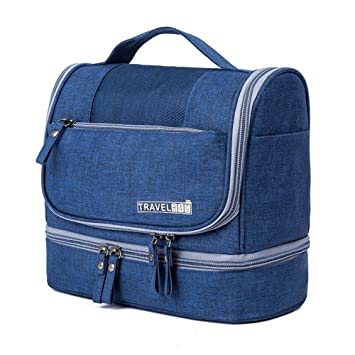 Travel Wash Bag Hanging Toiletry Bag Organiser Overnight Gym Shaving  Folding Bag Travel Makeup Organiser Portable 3f92eceb7d