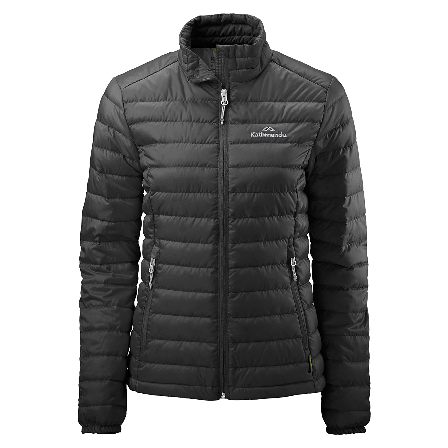 Black 10 Kathmandu Heli Women's Lightweight Duck Down Coat Warm Puffer Jacket v2