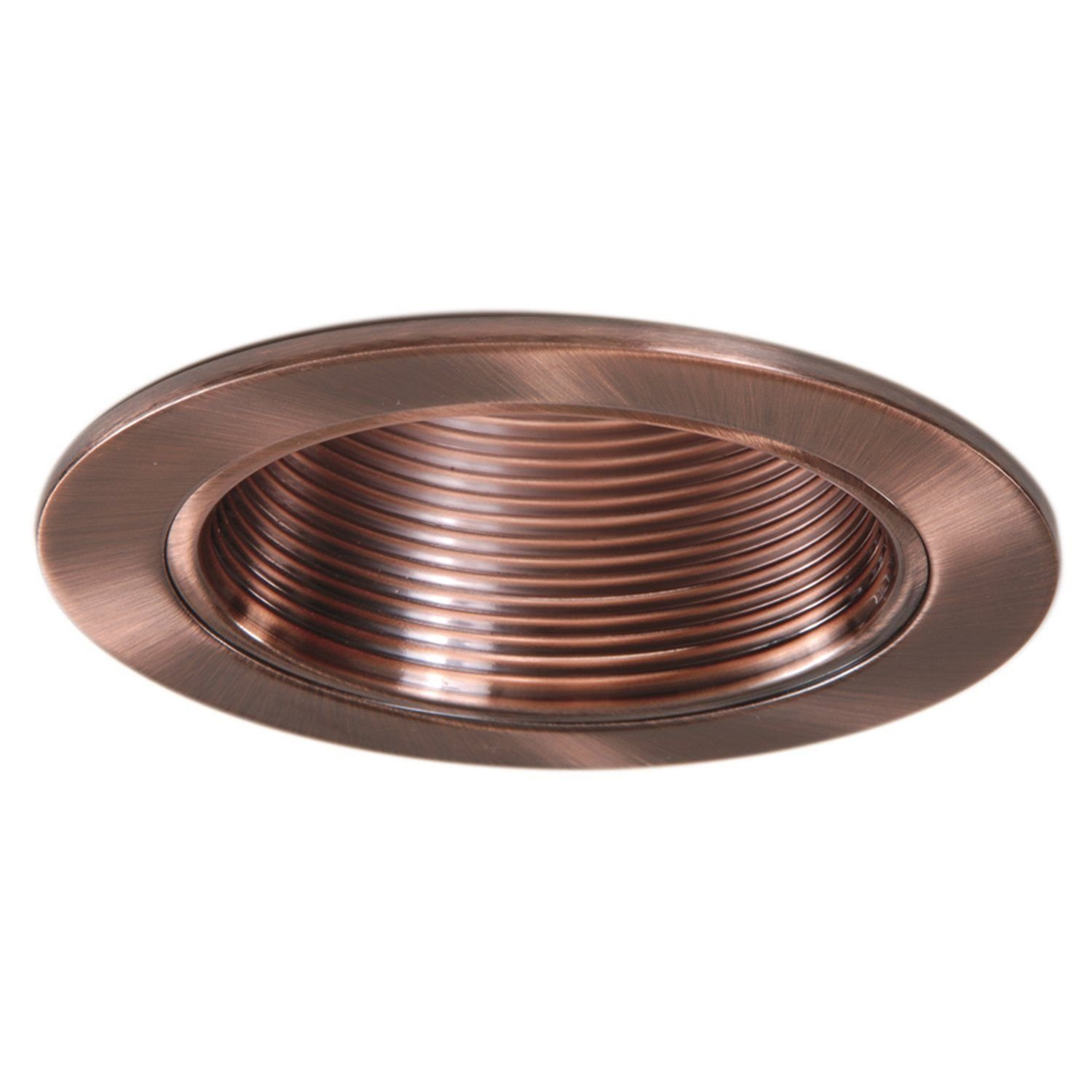 4  INCH COPPER TRIM- RECESSED CAN LIGHT-REPLACES HALO 953AC-6 PACK - - Amazon.com  sc 1 st  Amazon.com & 4