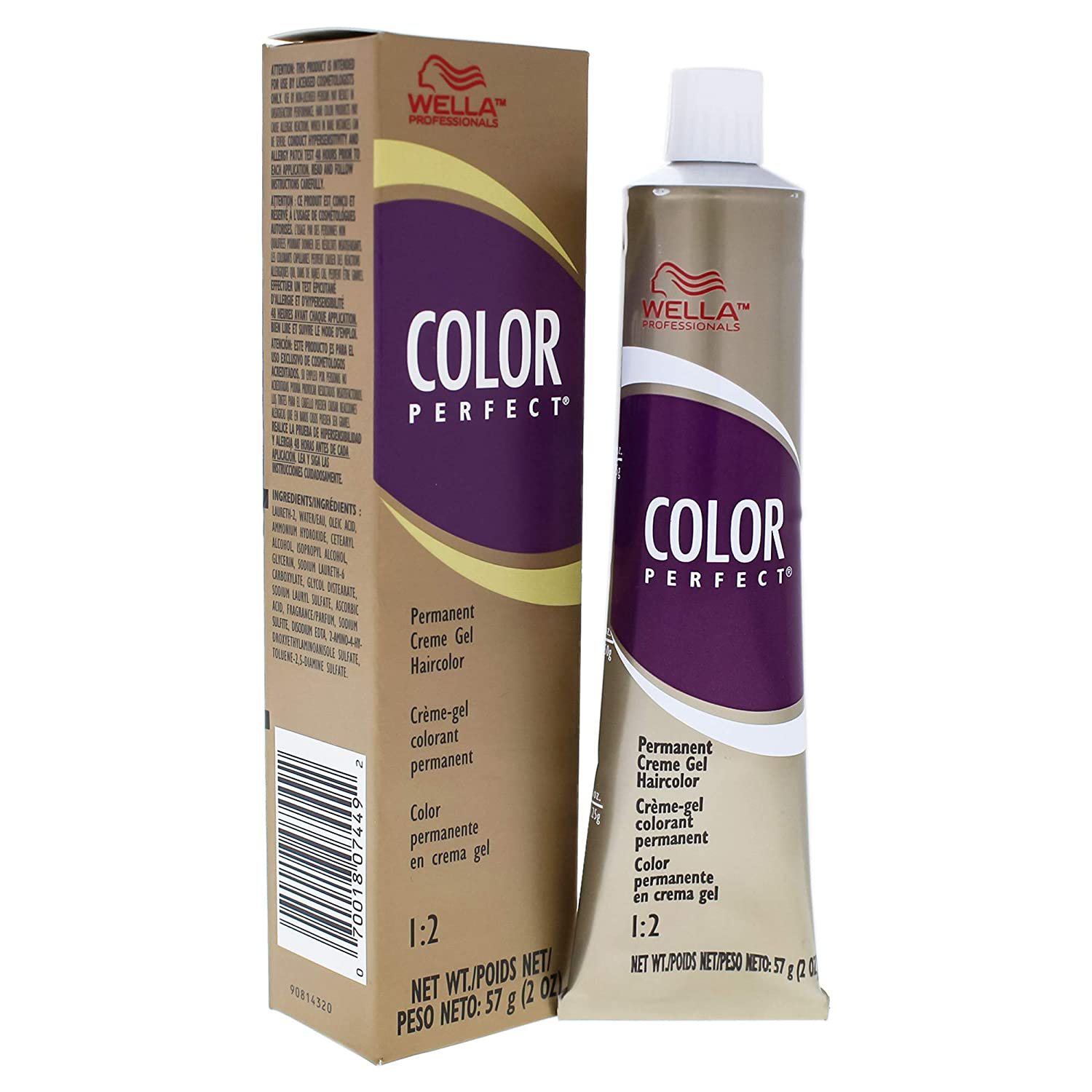 Wella Color Perfect Permanent Creme Gel Hair Color Bb Blonding Booster for Unisex, 2 Ounce