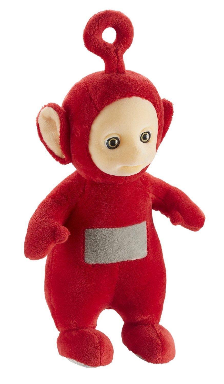 Teletubbies 26cm Talking Po Soft Plush Toy Brand New HST