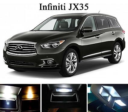 Amazon.com  2013 - 2015 Infiniti JX 35 Xenon White Vanity   Sun Visor LED  Light Bulbs (4 Pieces)  Automotive a266a15a614