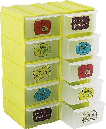 Cogex 405100 Casier De Rangement Plastique Amazon Fr Bricolage