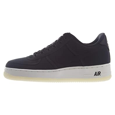 buy popular d05cc 639b8 Nike Air Force 1 Low Retro QS Canvas Big Kids  Shoes Black White Summit