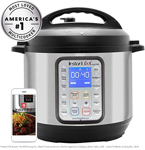 Instant pot smart wi-fi 6 quart electric pressure cooker review