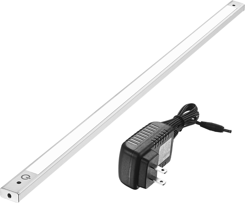 24 Inch Under Cabinet Lighting 4000K – Under Counter Lighting and Under Cabinet LED Lighting by Phonar with 12V Adapter and Sensor Switch